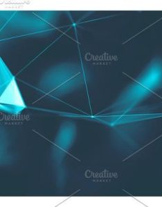 Abstract blue geometrical background connection structure science futuristic technology hud element also rh pinterest