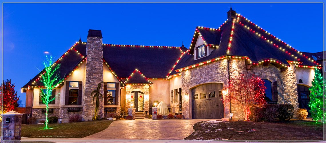 Outdoor Christmas Lights Ideas For The Roof Roof Light Candy