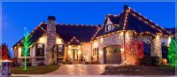 Outdoor Christmas Lights Ideas For The Roof | Roof light ...