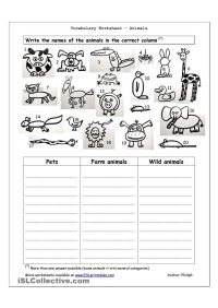 Animal Kingdom Worksheet Free Worksheets Library ...