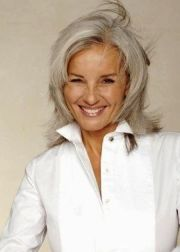 women with gray hair 2015