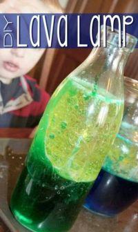 Kids lava lamp | Creative kid/baby crafts | Pinterest ...