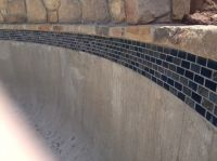 Enthralling Grout for Swimming Pool Tile with Glass Mosaic ...