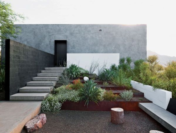 phoenix home garden with native