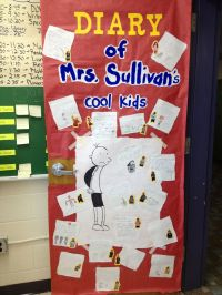 Diary of a Whimpy Kid door for Literacy Week ...