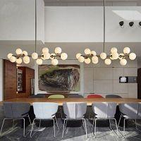 FAYM-Modern minimalistisch Esszimmer Wohnzimmer Glas Runde ...