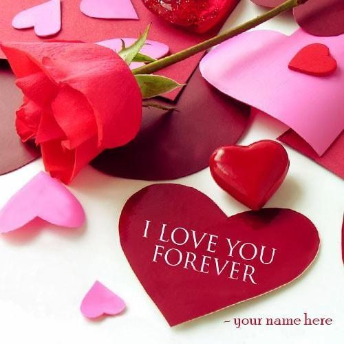Heart pics with name editing wallsmiga write name i love you greeting card image u heart m4hsunfo