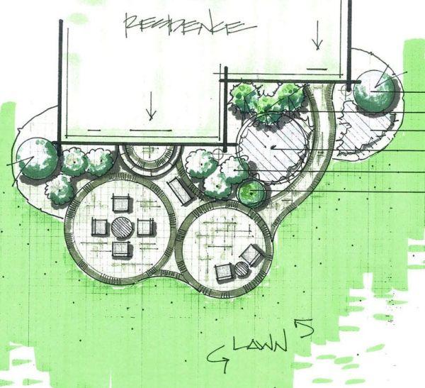 residential landscape plan