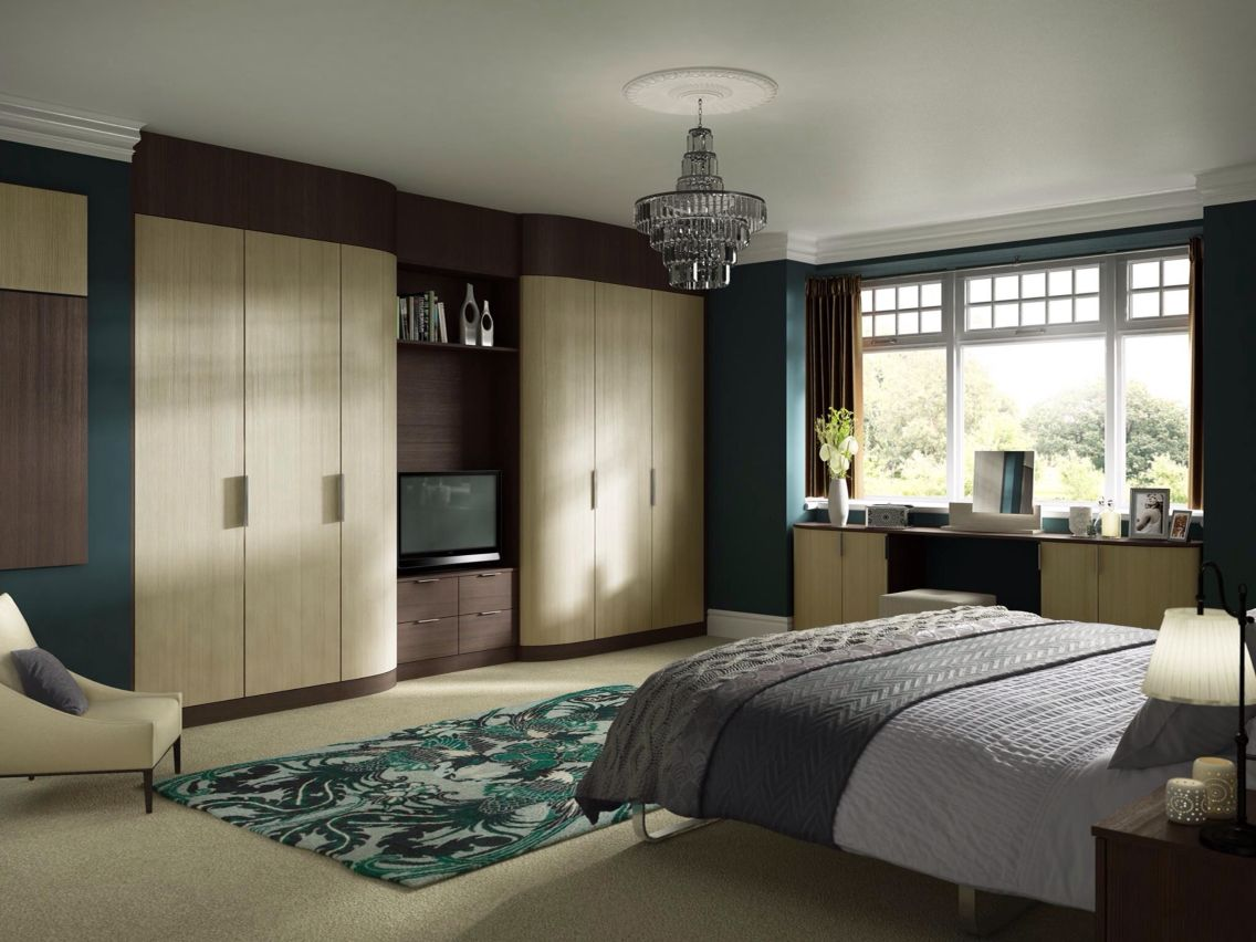 Fitted wardrobes with tv space  Home Sweet Home