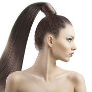 warrior hair tied high