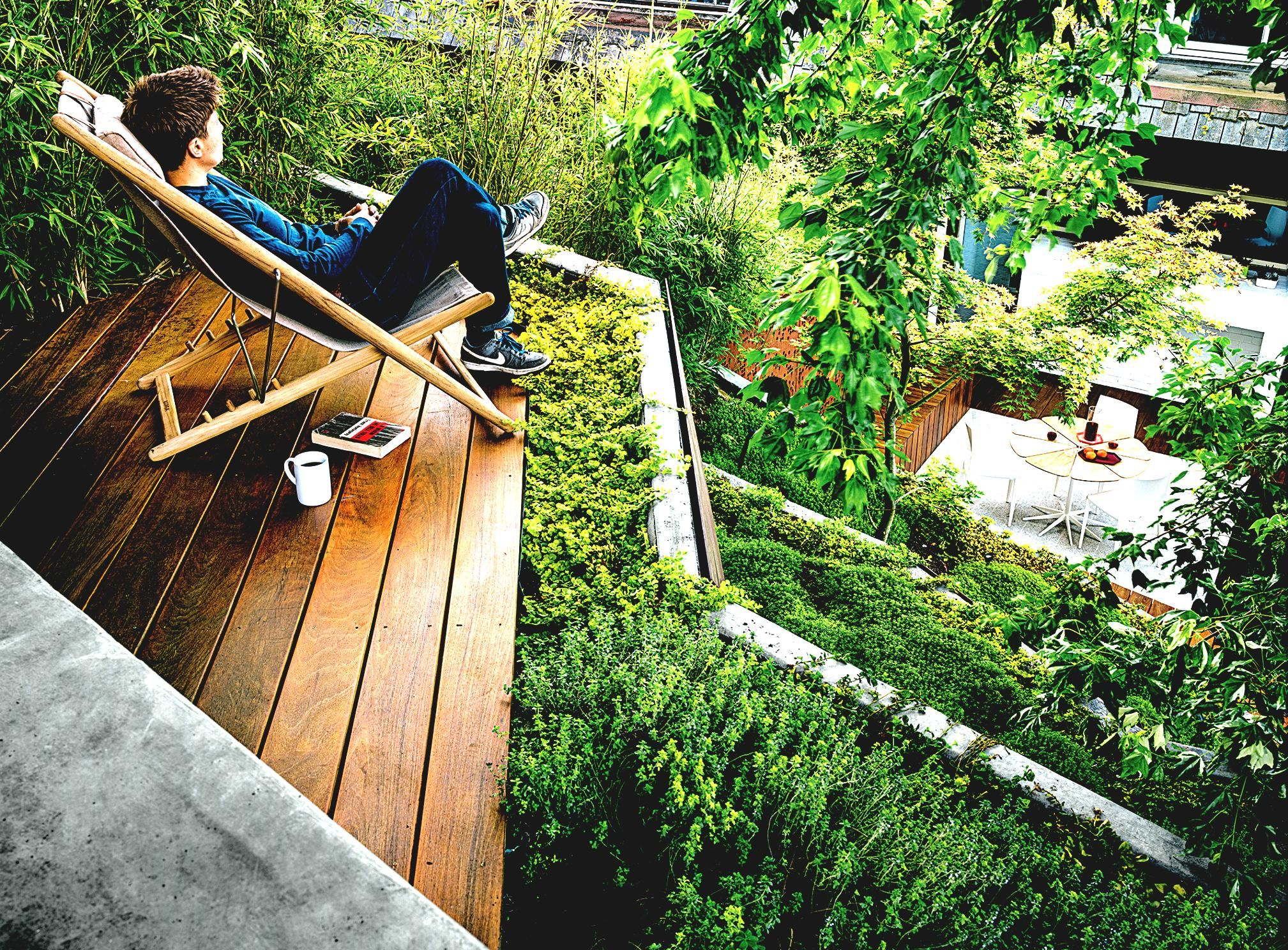 Charming Urban Gardens Dwell Landscaping Ideas On A Steep Hill
