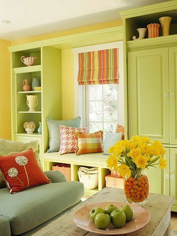 Red sage yellow green interior decor living room decorating ideas for also pin by lynette bennier on citronella pinterest cottage style rh
