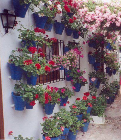 Tipica Pared Cordobesa Jardines Pinterest Gardens