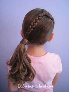 14 Lovely Braided Hairstyles For Kids Hairstyles For School For