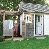 Outdoor Pool Bathroom on Pinterest