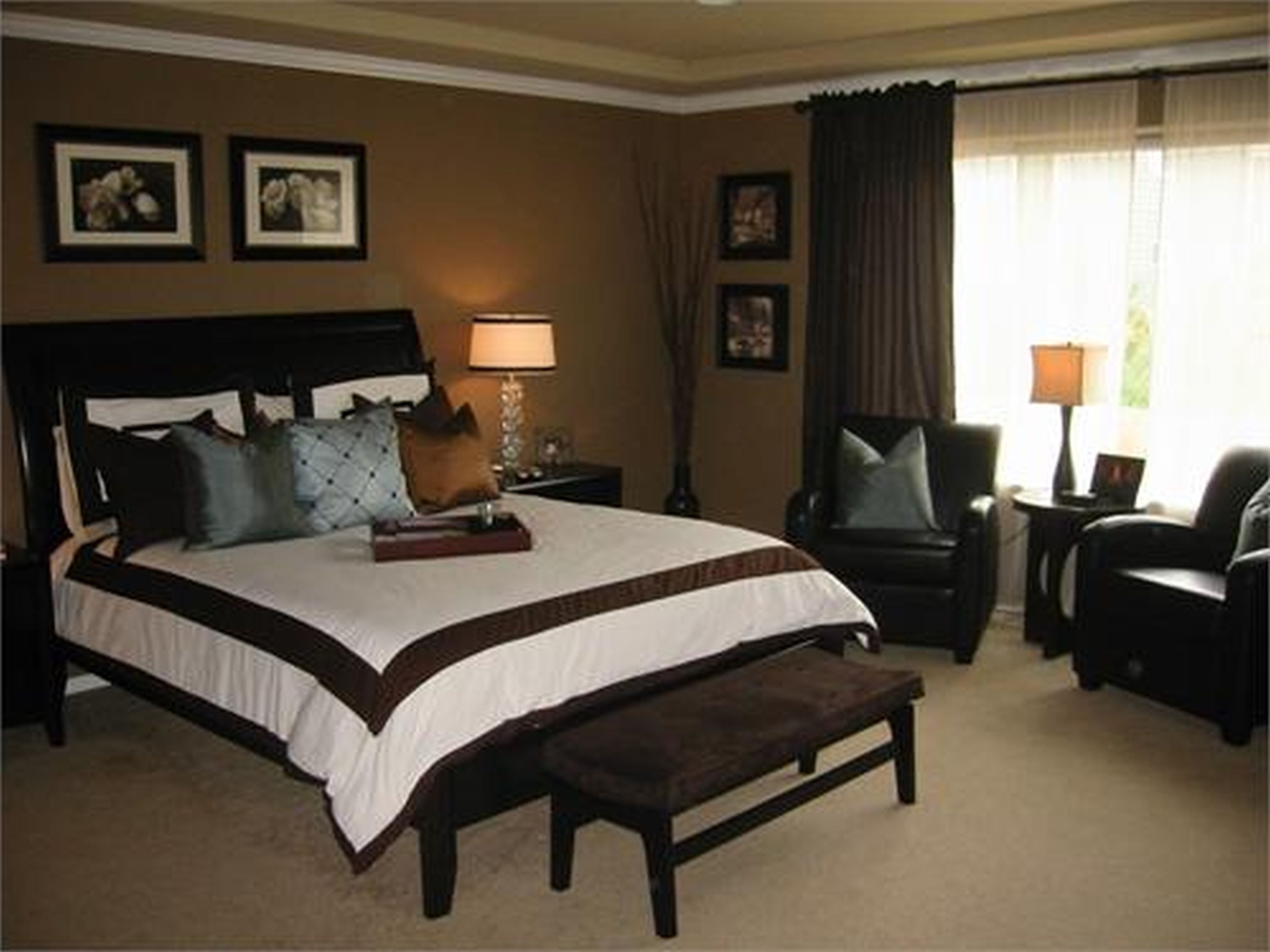 Modern Black And Brown Bedroom Furniture Pictures