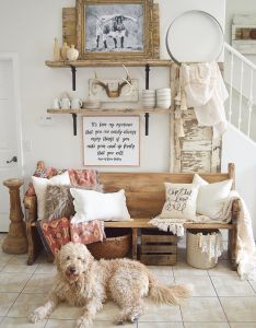 have had so many questions on these open shelves in my home wanted to show you how can make some for yourself also beautiful interior countryhome homedecor rustic rh uk pinterest