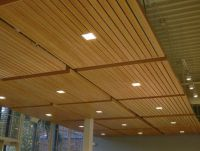 Wood grid panel for suspended ceiling - ASU WALTER ...