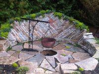 Sunken firepit for cooking | Sunken Fire Pits | Pinterest ...