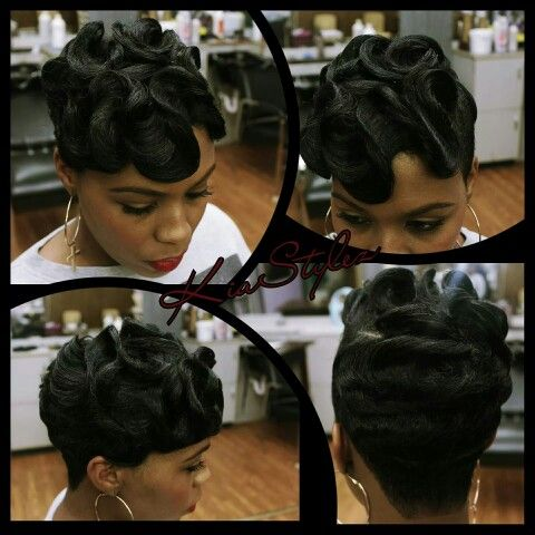 Dry Waves Short Black Hair Pinterest Waves And Dries