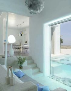 Summer house in paros cyclades greece design by logodotis  art to fit alexandros also pin kusno utomo on    pinterest rh