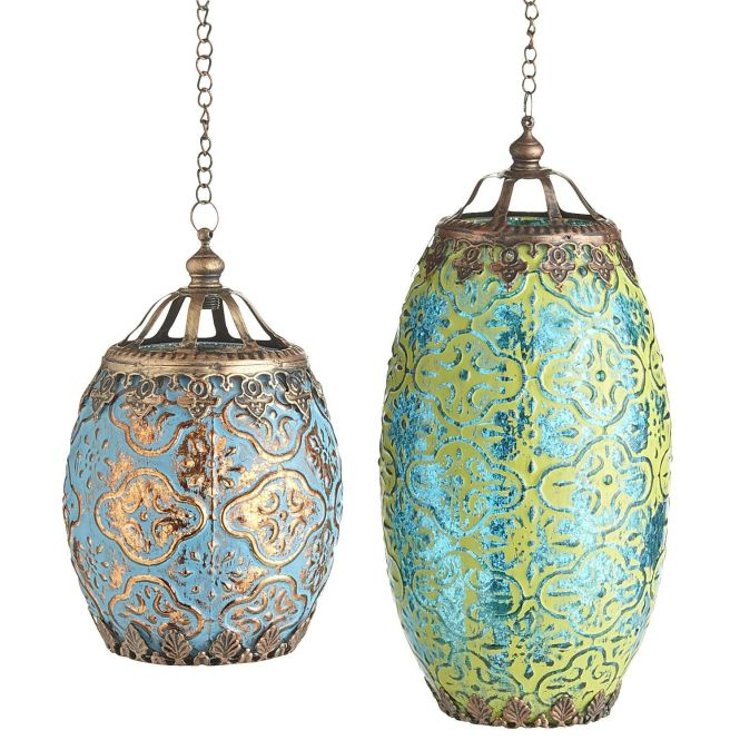 Pier 1 Bohemian Mercury Hanging Lanterns I Could See My Daughter Creating The Design On