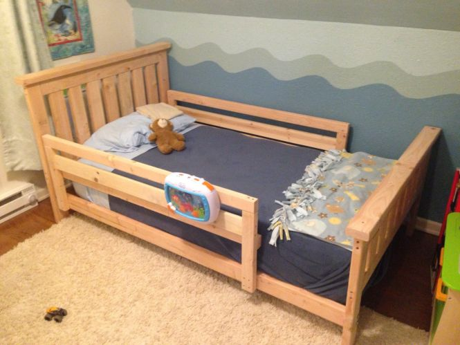 Image Result For Diy Toddler Bed Rails