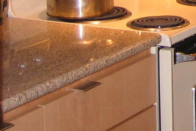 We Found Our Granite Countertop And Backsplash At A Building Salvage