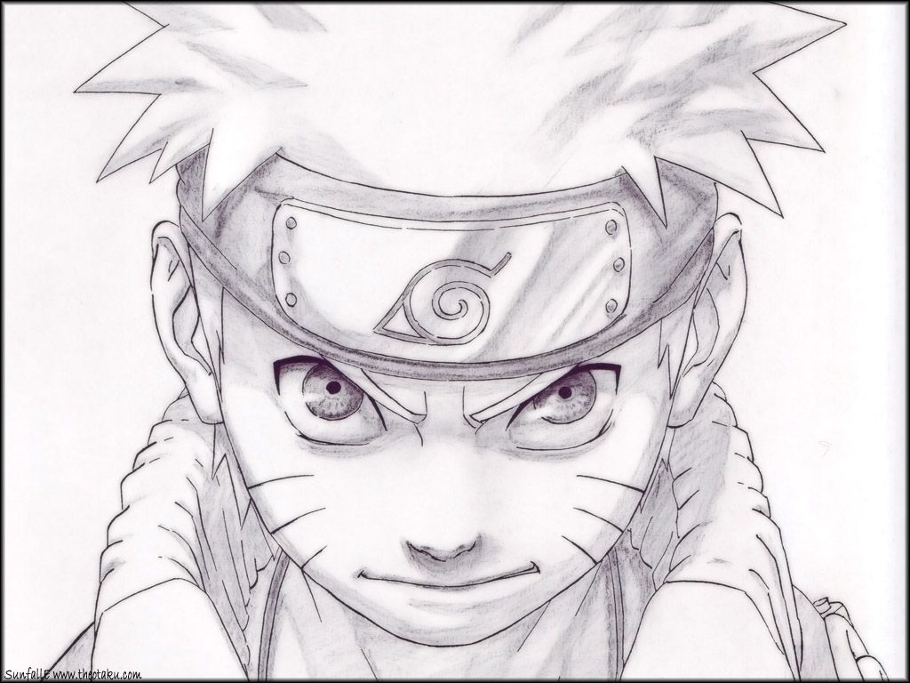 Easy Drawing Naruto Naruto Sage Mode Nine Tails Mode Lineart By