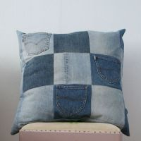 recycled jeans pillow | Recycle jeans, Reuse recycle and ...