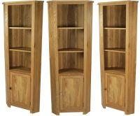 Oxford Solid Oak Tall Corner Cabinet | House | Pinterest ...