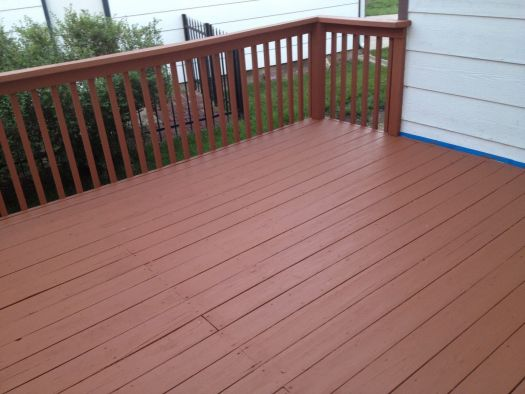 Behr Deckover Cappuccino Solid Color Deck Paintdeck
