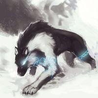 Lightning wolf | Wolf | Pinterest | Wolf, Anime bilder und ...