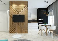 Tiny Apartment Accent Wall | Wall Decals | Pinterest ...
