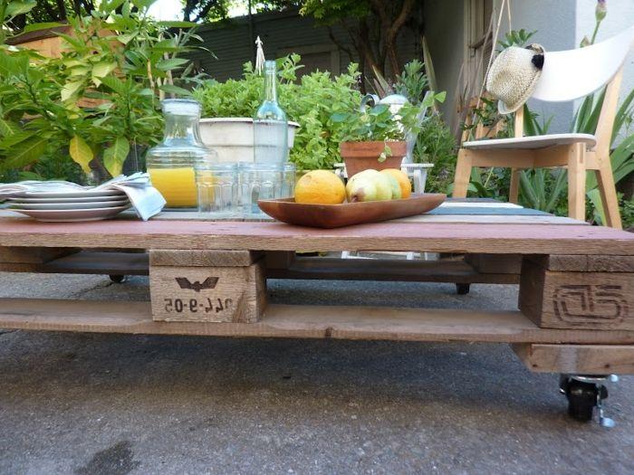 la table basse palette 60 idees creatives pour la fabriquer archzine fr