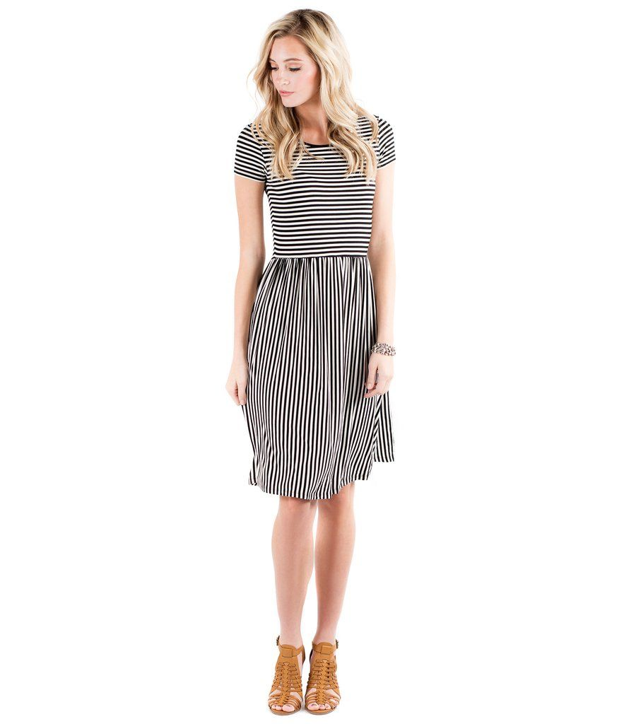 Downeast Basics Eye Test Dress - Small