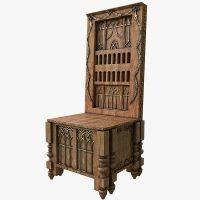 medieval throne 3d model   3d model   Pinterest