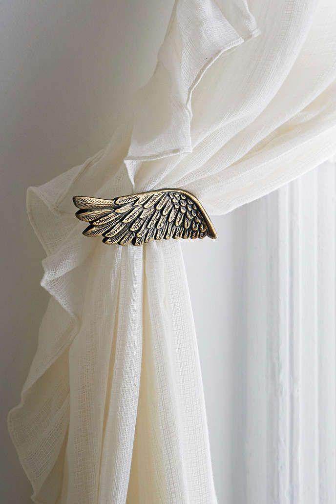 Plum & Bow Wing Curtain Tie Back Urban Outfitters Wings And Urban