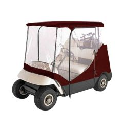 push pull golf carts 75207 burgundy 2 person driving golf cart cover fit [ 1600 x 1537 Pixel ]