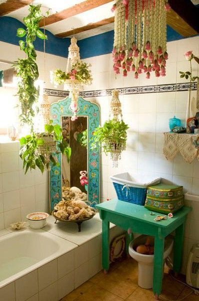 the bohemian bathroom | b a t h r o o m : | pinterest | bohemian