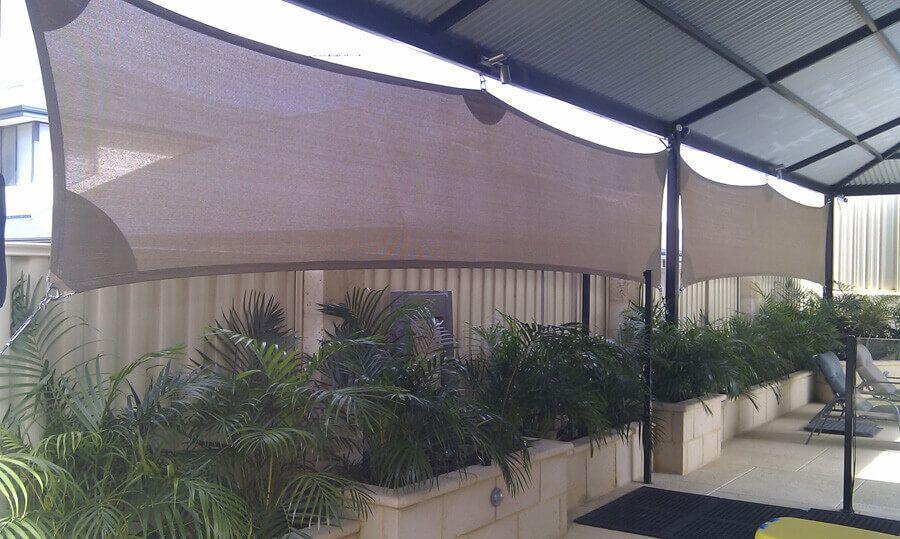 Privacy Screens  Perth Sail Shades  Umbrellas  gardening  Pinterest  Shade umbrellas Sail