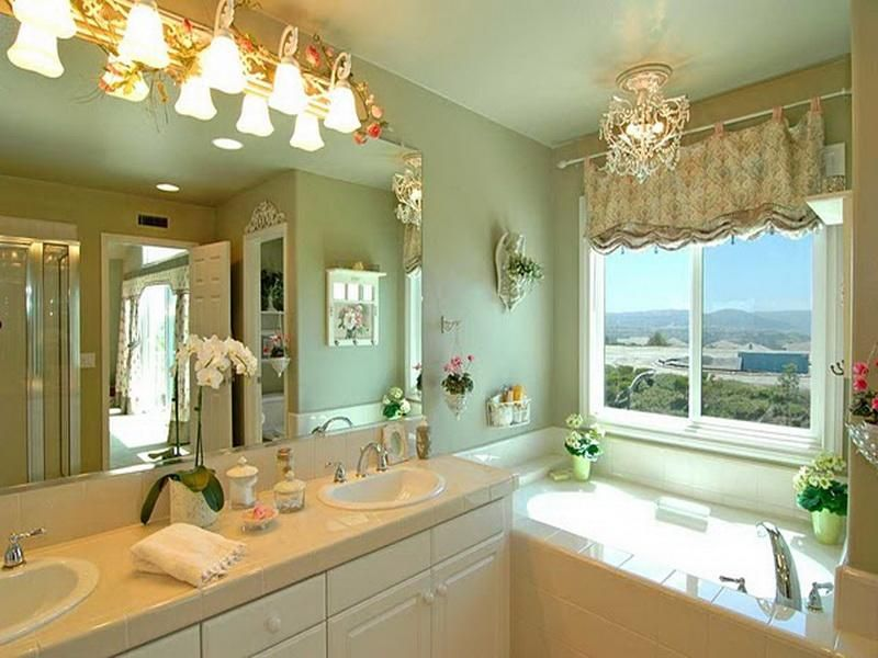 The Sage Green Bathroom Decor Up There Is Used Allow The