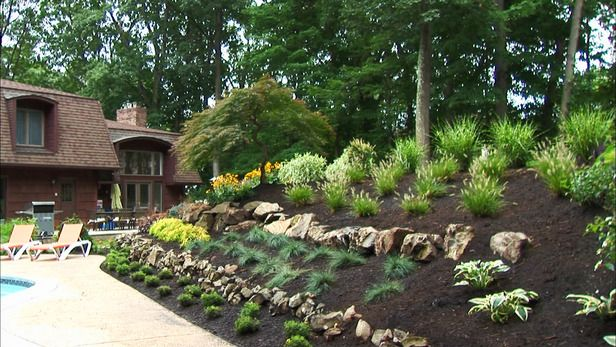 Rock Landscaping Ideas Gardens Home Improvements And Plants