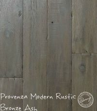 "Provenza Modern Rustic, Bronze Ash 6"" hand distressed"
