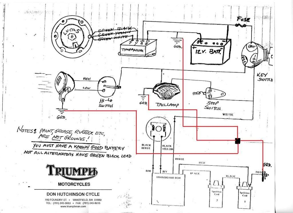 related with 1966 norton wiring diagram