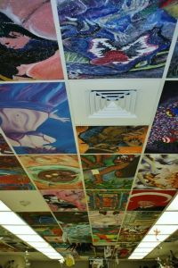 Ceiling Tiles Painted on Pinterest | Ceiling Tiles, Tin ...