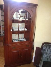 Willett Wildwood Cherry Corner Cabinet | Cherries, Corner ...