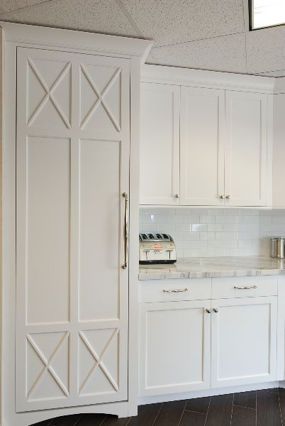Integrated refrigerator detail  Kitchen Crushes