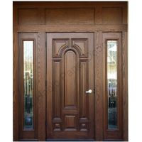Ash Wood Door With Frame Hpd416 - Solid Wood Doors - Al ...