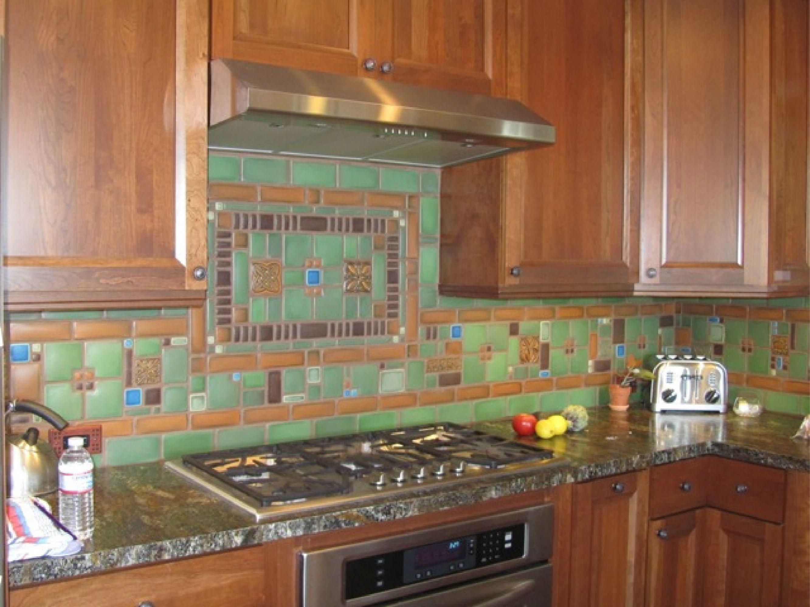 craftsman kitchen backsplash best appliances reviews motawi collage by tom gerardy of